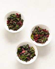 Sauteed Beet Greens, Recipe from Martha Stewart Living,