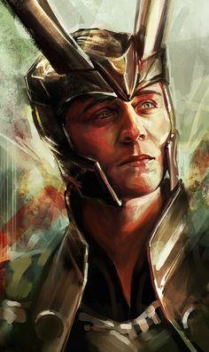☆ Loki.。Prince of Asgard :→: Artist Alice X. Zhang ☆