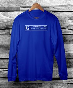 Official GYMRATED™ Brand Men's Long Sleeve Tees