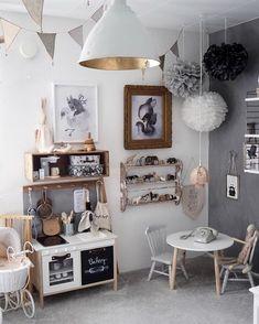 likes, 28 comments - Kidsroom Design - Tellkiddo (@ tellkidd… - Kinderzimmer ideen, Baby Zimmer Ikea, Playroom Decor, Vintage Playroom, Kid Playroom, Toy Rooms, Kids Room Design, Deco Design, Kid Spaces, Kidsroom