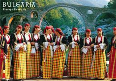 Traditional Costumes from the Rudopi Mountains, Bulgaria