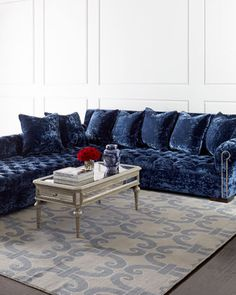 Divine Sectional Sofa by Haute House at Neiman Marcus. $8,999.00