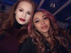 Madelaine Petsch & Vanessa Morgan