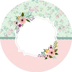 (notitle) - Sweet and Delicious - Pin Watermark Ideas, Tarjetas Diy, Diy And Crafts, Paper Crafts, Tea Party Theme, Tumblr Backgrounds, Circle Labels, Shabby Chic Frames, Borders And Frames