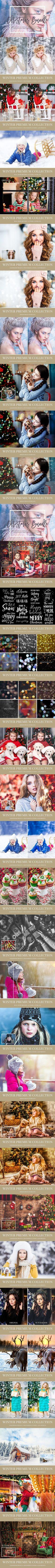 Winter Lightroom & Photoshop Bundle. Actions. $29.00