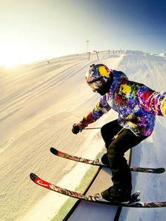 #ski #gopro