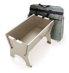 Portable Outdoor Charcoal and Wood Burning Brazier MirTrudMay-1