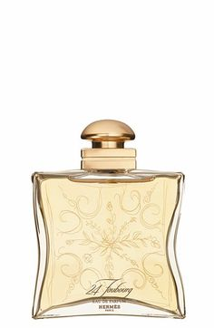Hermès 24 Faubourg - Eau de parfum natural spray available at #Nordstrom It's called the fragrance of light! This Jewel is kinda old school in it's essence, but not for the feeble of heart. Heavily floral on the top and woody on the base the finish is soft and powdery.