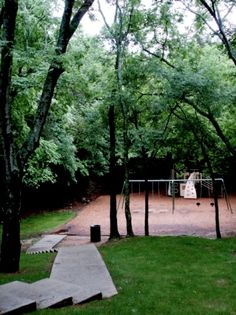 Located at 1351 McClung Avenue in Southeast Huntsville, Alabama, the Dead Children's Playground is considered to be one of the most haunted places in Alabama. Most Haunted Places, Spooky Places, Old Cemeteries, Graveyards, Haunted America, Ghost Hauntings, Haunted Attractions, Unexplained Mysteries, Real Ghosts