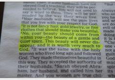 1st Peter 3:3