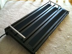 Amazing Idea for Home Pedal Board. Ikea Gorm Shelf!