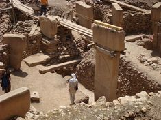Gobekli Tepe - The worlds oldest temple. Carbon dated to just after the last ice age. Pretty sophisticated. In Urfa - Turkey