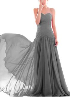 New Formal Prom Bridesmaid Cocktail Party Evening Chiffon Dress US Size 4-18 $79.99