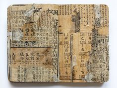 artistjournals:  Chinese Moleskine 19 by Juan Rayos on Flickr.
