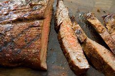 healthy cajun flank steak recipe