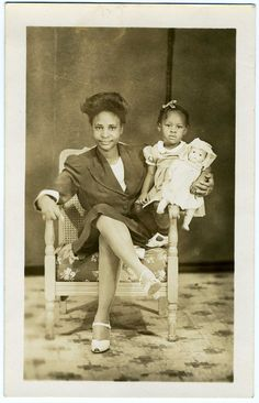 """Real Photo Postcard: """"Little Florence and Baby Rose""""   Flickr - Photo Sharing!"""