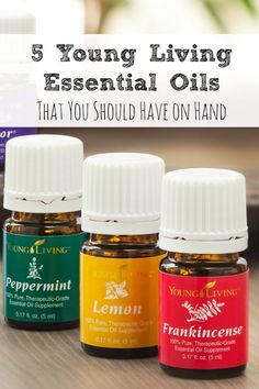 5 Essential Oils That You Should Have On-Hand!