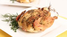 Herb Roasted Cornish Hen Recipe - Laura Vitale - Laura in the Kitchen Ep...