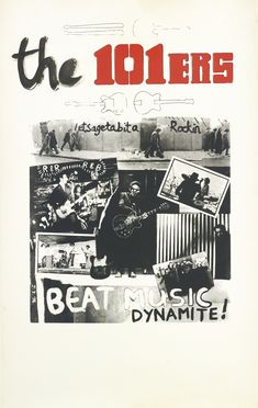 The 101ers - Joe Strummer _  BEAT MUSIC DYNAMITE.  - LONDON, 1976.