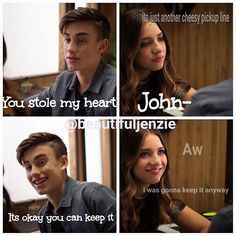 Funny Af Memes, Tv Memes, Maddie And Mackenzie, Mackenzie Ziegler, Adventure Quotes, Adventure Time, Pick Up Lines Cheesy, Cheesy Jokes, Nick Miller