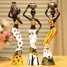 Creative home decoration resin doll African character decorations new room living room Crafts. Subcategory: Home Decor. African Dolls, African Girl, African Fashion, Tribal African, Beautiful African Women, African Art Paintings, Style Africain, Creation Art, Africa Art