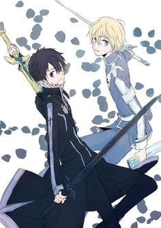 Đọc Truyện Eugeo Pics (Mostly Kirito x Eugeo) - - AleMamoJaSieBoje - Wattpad - Wattpad Eugeo Sword Art Online, Sword Art Online Wallpaper, Kirito Asuna, Accel World, Another Anime, Manga Illustration, Light Novel, Animation Film, Online Art