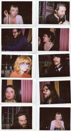 With Nicole, Vincent Gallo, Linda Ramone & J. D. King Dice Night I