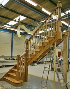 Prescott Oak Staircase