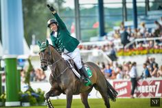 Cian O'Connor and Good Luck at the 2015 FEI European Championships | Noelle Floyd