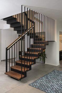 Best Modern House Design, Stairs, Diy, Home Decor, Ideas, Townhouse, Under Stair Storage, Stairway, Decoration Home