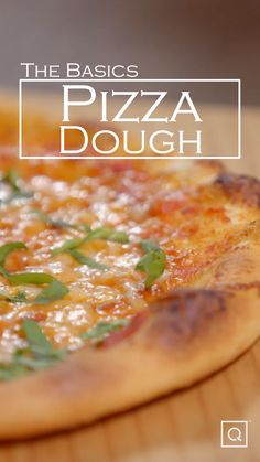 This easy recipe shows you how to make pizza dough. This pizza dough recipe is a perfect week Pizza Recipes, Dinner Recipes, Cooking Recipes, Kitchen Aid Recipes, Easy Homemade Pizza, How To Make Pizza, Quick Pizza, Indian Food Recipes, Dough Pizza