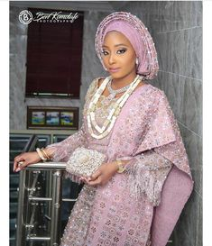 Nigerian Wedding Dress, Nigerian Dress, African Wedding Attire, Nigerian Bride, African Attire, African Dress, Nigerian Traditional Wedding, Traditional Wedding Attire, African Lace Styles