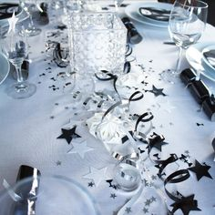 New Years Party, New Years Eve, New Year's Food, Deco Table, Happy New Year, Table Settings, Table Decorations, Nye, Creative