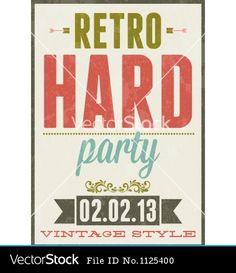 retro-party-vintage-typography-poster-vector.jpg 380×440 pixels