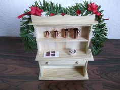 Miniature Maven Diaries: Kitchen Shelf Kitchen Shelves, Diaries, Shelf, Miniatures, Projects, Blog, Home Decor, Homemade Home Decor, Journaling