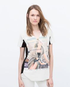 Image 2 of GIRL PRINT T-SHIRT from Zara