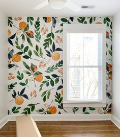 How To Install A Removable Wallpaper Mural Young House Love - Weve Been Eager To Try A Wallpaper Accent Somewhere In The Duplex And Last Week We Finally Installed Not One But Two Removable Wall Murals And I Cant Begin To Describe How Much Easier Home And Deco, My New Room, Home Design, Design Ideas, My Dream Home, Interior Decorating, Decorating Ideas, Decorating Websites, Sweet Home