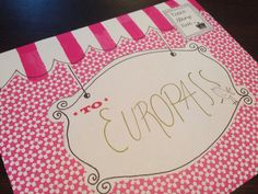 A birthday card for #Europass? How sweet! Spotted at the birthday party in #Finland. #Europass10Years