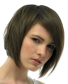 Incredible Bob With Bangs Smooth And Bangs On Pinterest Short Hairstyles For Black Women Fulllsitofus