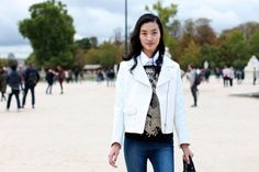 lovely layering    Fifty Great Street-Style Looks From Paris Fashion Week So Far - The Cut