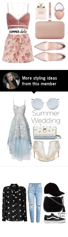 """""""Unbenannt #228"""" by itsjana on Polyvore featuring Zimmermann, Natalie B, Christian Dior, Dune, Too Faced Cosmetics, L'Oréal Paris and DateNight"""