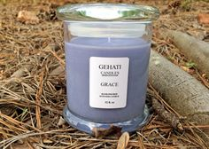 The Grace candle has top notes of apple, cucumber and yuzu; middle notes of magnolia, tuberose, lily and fresh cut roses; end notes of sandalwood and white amber.This is a strong scent candle.