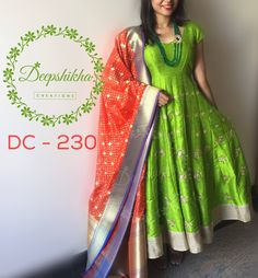 DC 230 For queries kindly inbox or Email - deepshikhacreations@gmail.com Whatsapp/Call - 9059683293 25 April 2016