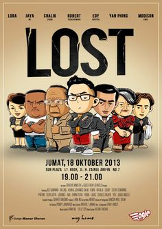 poster lost chibi
