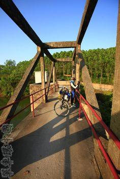 寂靜的單車世界: 單車環中國第149日 青平鎮到廣西閘口水庫