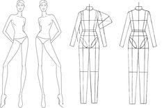 Fashion Design Croquis Templates | The Croquis-Part I | DCTdesigns Creative Canvas