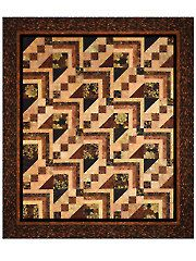 Pieced Lap Quilt & Throw Patterns - One Step at a Time Quilt Pattern Quilting Tutorials, Quilting Projects, Quilting Designs, Quilting Ideas, Bed Quilt Patterns, Rail Fence Quilt, Quilt In A Day, Man Quilt, Crochet Quilt