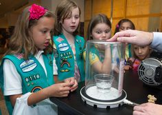 Participate in STEM programs and activities as a Girl Scout. #GirlScouts  Girl Scouts Rock @Stephanie Anderson (201206080005HQ) by nasa hq photo, via Flickr