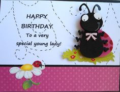 This is probably the best card I've made all year - Yes, I saw it in a magazine, but it still is entirely mine. I changed the wording slightly, used my own ladybug sticker(s), and I drew in all the dotted lines! (I have mentioned I am not an artist many times in the past). Part of me can't wait to send it to my granddaughter, Part of me wants to keep it forever. I suspect granddaughter will win...
