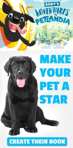 Your Pet Becomes The Star of the show when you bring their story to life in their own action filled adventure book. The perfect personalised gift for any pet lover!